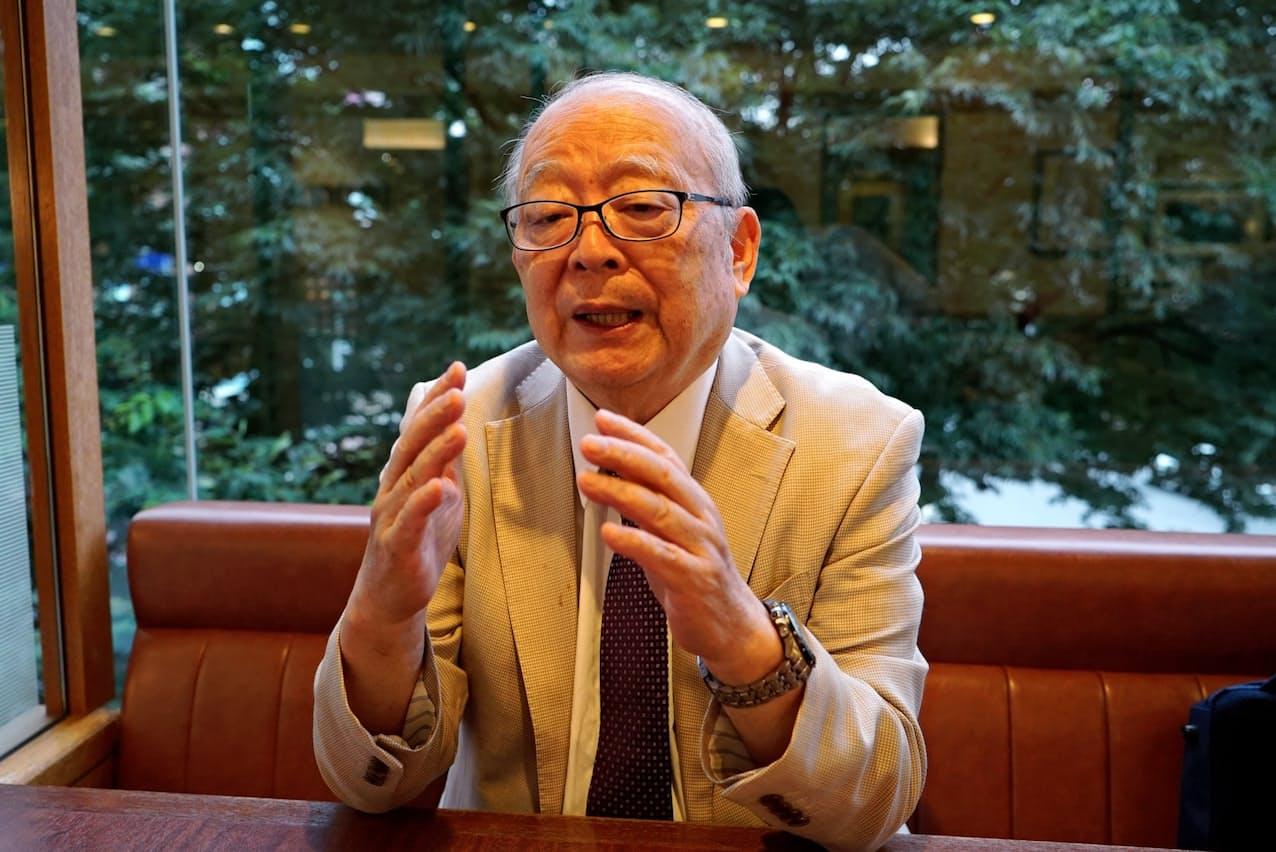 山本武彦早稲田大学名誉教授