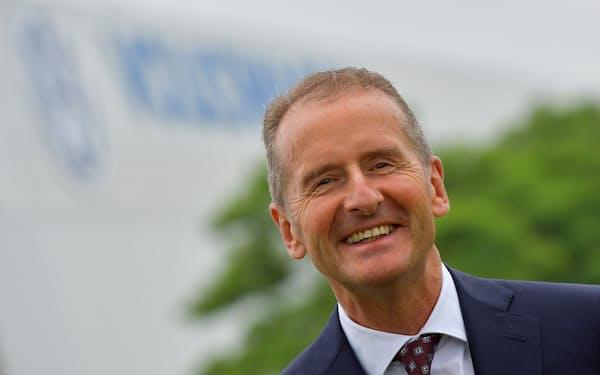 VWはディース社長の任期を25年まで延長した=ロイター