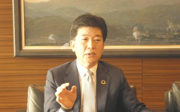 静岡銀行の柴田久頭取