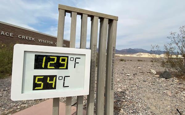 米西部は熱波に見舞われている(6月、カリフォルニア州デスバレー)=ロイター