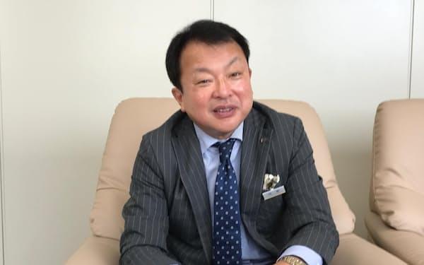 三越日本橋本店の勤務が長い牧野氏だが、地方での経験も豊富だ