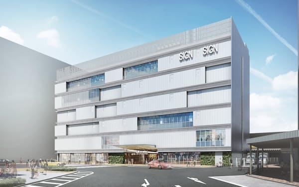 JR新小岩駅に新駅ビルを建設する(写真はイメージ)=JR東日本千葉支社提供