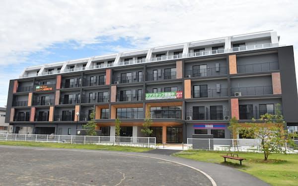 完成した多世代交流型住宅「ココファン静岡南八幡」(静岡市)