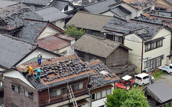 建物の一部損壊などの損害額をAIで即時に算出する