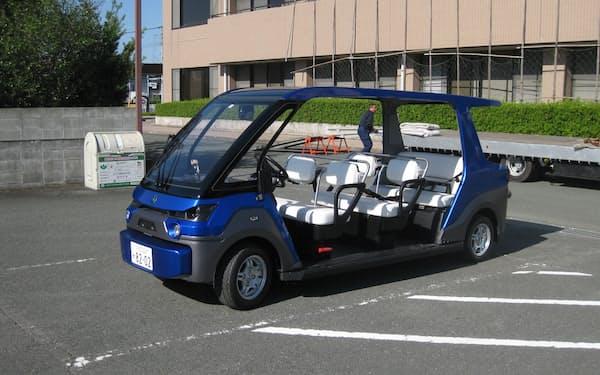 福岡・みやま市で運行する、自動運転を利用したコミュニティーバス