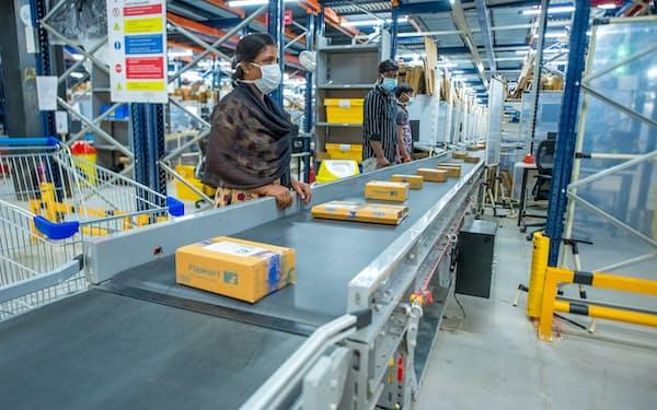 フリップカートはインド各地で物流網の整備も進めてきた
