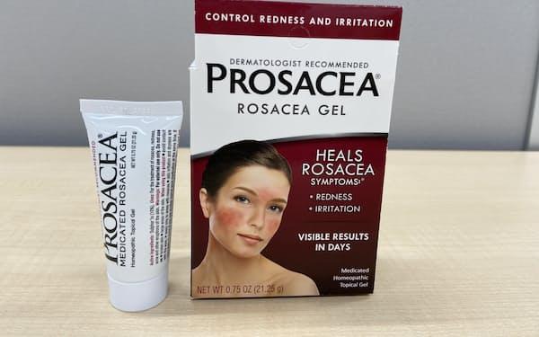 アルバアムコは赤ら顔改善薬などニッチ製品を多く手掛ける