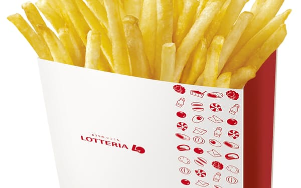 ロッテリアは「ふるポテ」シリーズから「紅しょうが天 風味」を発売する