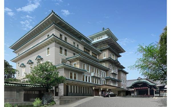 帝国ホテルは京都・祇園に高級ホテルを26年に開業する