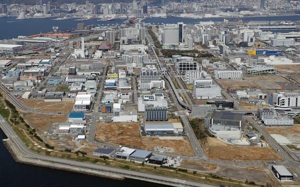 FOCUSスパコンも富岳もポートアイランドにある(神戸市中央区)