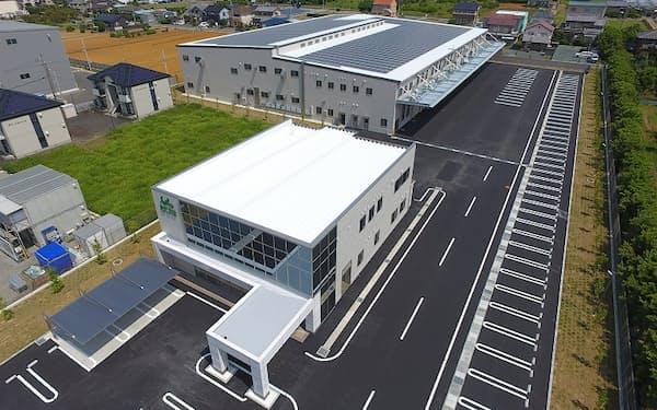 セリオが浜松市内に設けた新本社と工場