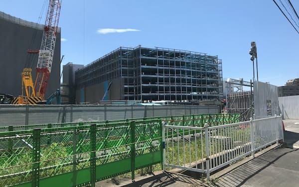 三井不動産などが建設しているららぽーと福岡は22年春に開業する予定(7月、福岡市)