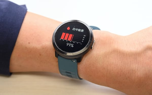 血中酸素濃度などのバイタルを常時測定できるアドダイスの「ResQ Band」