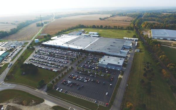 米国子会社のオハイオ工場は日本プラストの主力工場だ。
