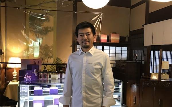 「笠間など茨城の魅力を発信し、足を運んでもらいたい」と意気込む「栗のいえ」代表の竹内さん