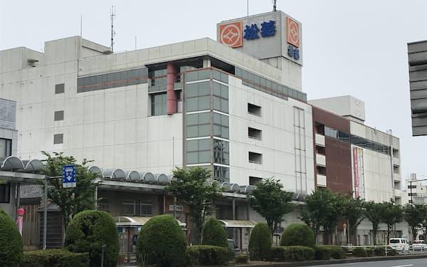 津松菱は三重県に本社を置く唯一の百貨店だ(津市)