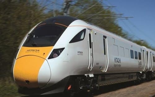 英国で運行する「クラス800」