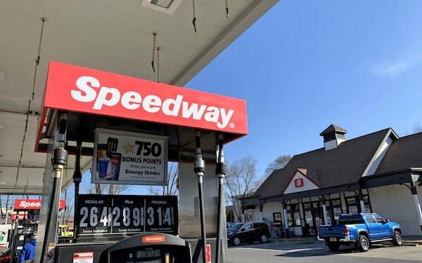 スピードウェイは米国でガソリンスタンド併設店を展開(ニューヨーク州の店舗)