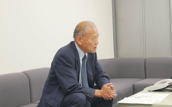 三光合成の黒田健宗社長