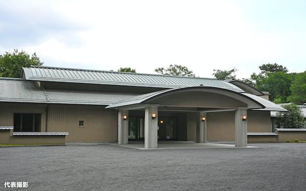 改修を終えて公開された皇居・新御所(14日)=代表撮影
