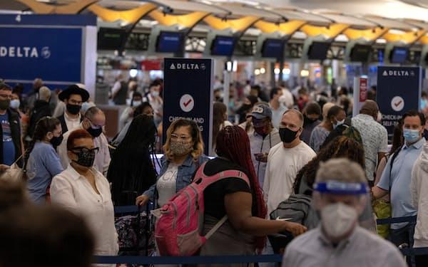 米国内の航空需要が回復している(5月、米ジョージア州アトランタ)=ロイター