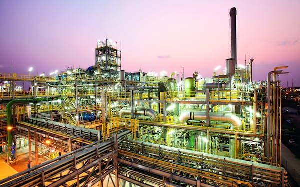 東南アジアでは塩ビ樹脂需要が旺盛だ(タイにあるAGCの化学品工場)