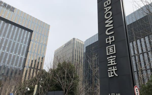 中国政府は宝武を軸に業界再編を進めている(上海市の本社)