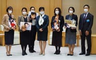 就労支援を求めて東京都知事に要望書を提出した