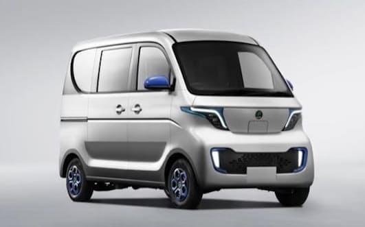 佐川急便が採用する小型商用EVに搭載する