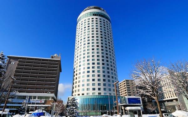札幌プリンスホテル(札幌市)などの売却を検討する