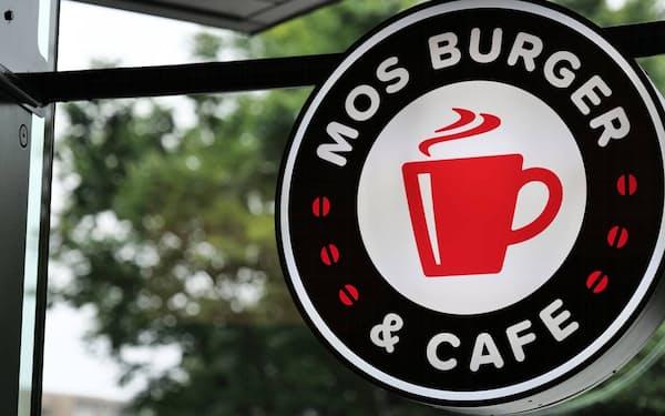 モスフードサービスは新業態としてモスバーガー&カフェの出店を拡大している