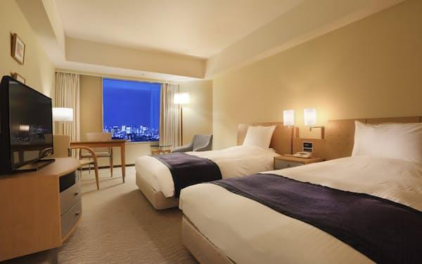 東京ドームホテルは客室で生ビールを楽しめるプランを提供する