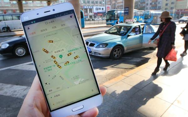 滴滴出行は中国の配車アプリ最大手だ