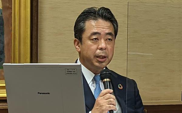 生命保険協会の高田会長