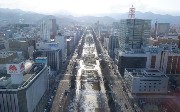 2020年度の札幌市の観光客数は過去最少だった