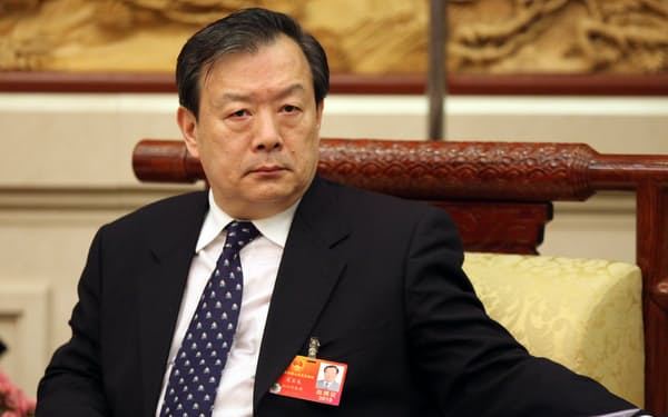 夏宝竜・香港マカオ事務弁公室主任はメディア監視の強化を求めた=AP