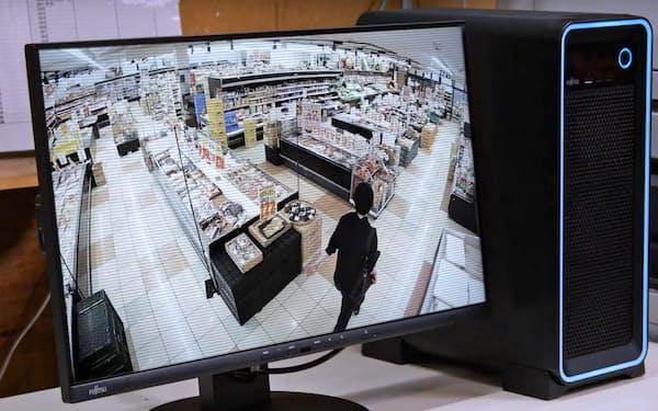 富士通フロンテックはエッジAIが不審者を監視するサービスを提供