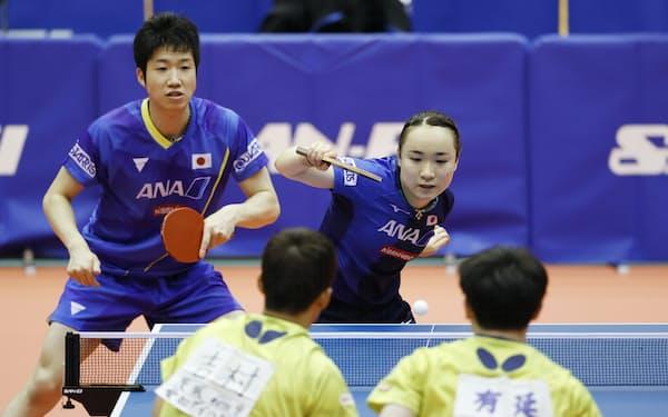 東京五輪で初採用された混合ダブルスは今大会の卓球で最初の種目。水谷隼・伊藤美誠組に日本卓球界初の金メダルの期待がかかる