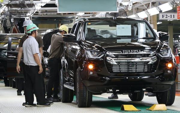タイなどでコロナ禍からの販売回復を見込む