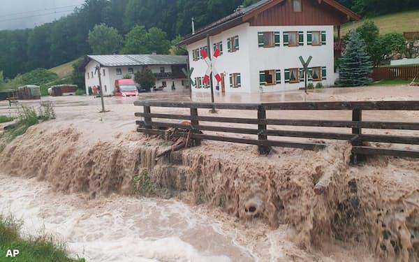 異常気象で自然資本の価値を再評価する機運が高まる(ドイツ各地で相次ぐ洪水被害)