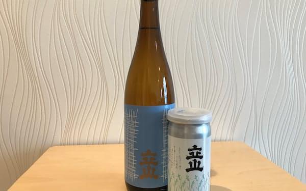 富山県で最も出荷量が多い(立山酒造の商品)