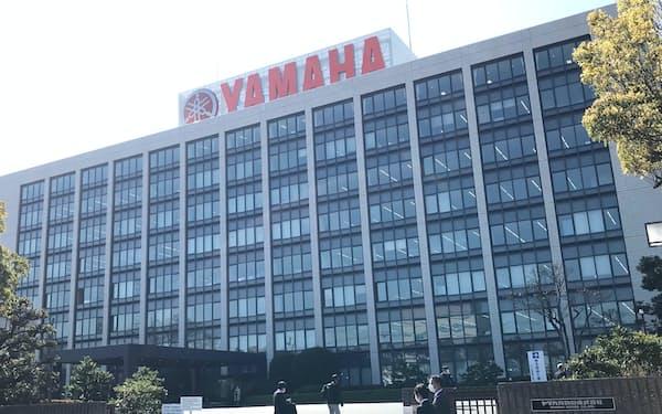 ヤマハ発動機の本社(静岡県磐田市)