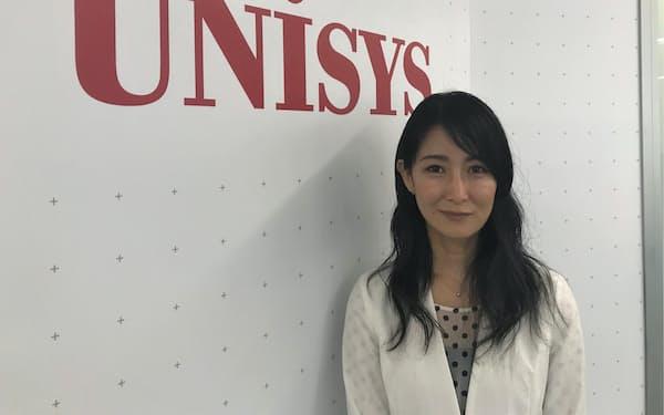 日本ユニシスの宮森未来ダイバーシティ推進室長