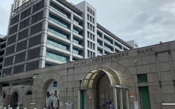 アジア開発銀行本部(19日、マニラ首都圏)