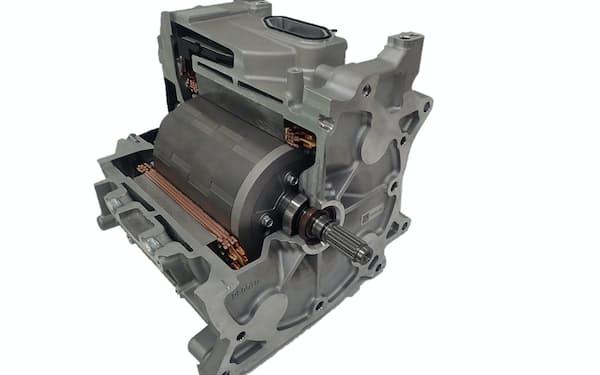 日立アステモはEVなど電動車用モーターで約1割のシェアを持つ最大手だ