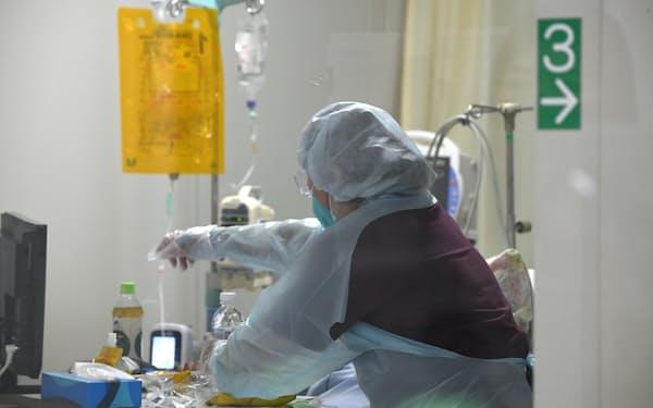 抗体カクテル療法は軽症、中等症の患者に使用する