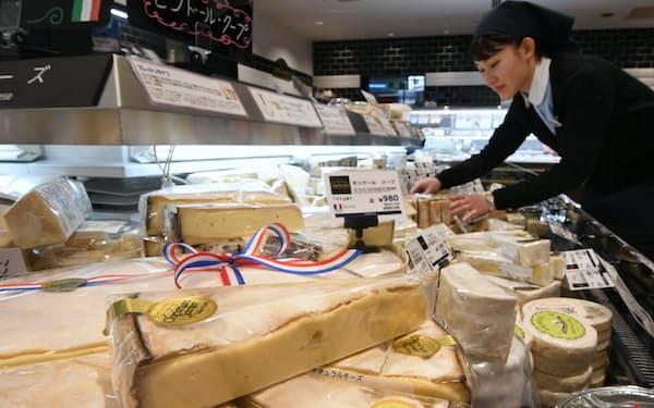 チーズ消費は家庭向けが支える