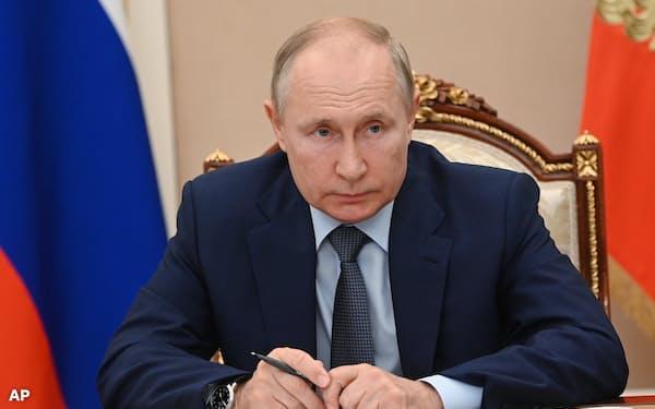 プーチン氏が唯一懸念していることは、自身の権力を維持できるかどうかだ=AP