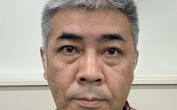 名桜大学 キャリア支援課の赤嶺達也課長