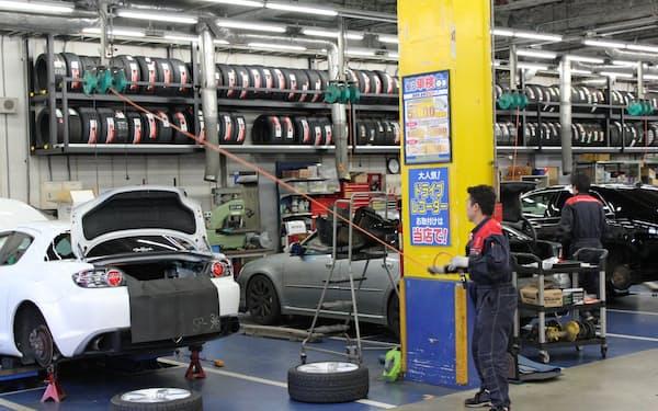 国交省は車検の登録手続きのデジタル化を進める